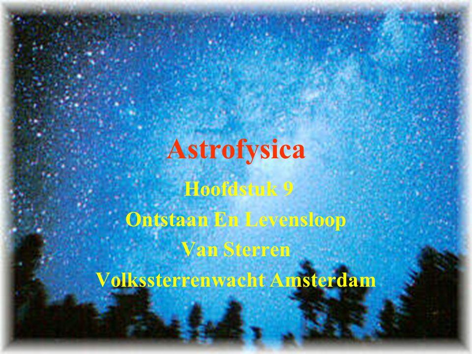 Ontstaan En Levensloop Volkssterrenwacht Amsterdam
