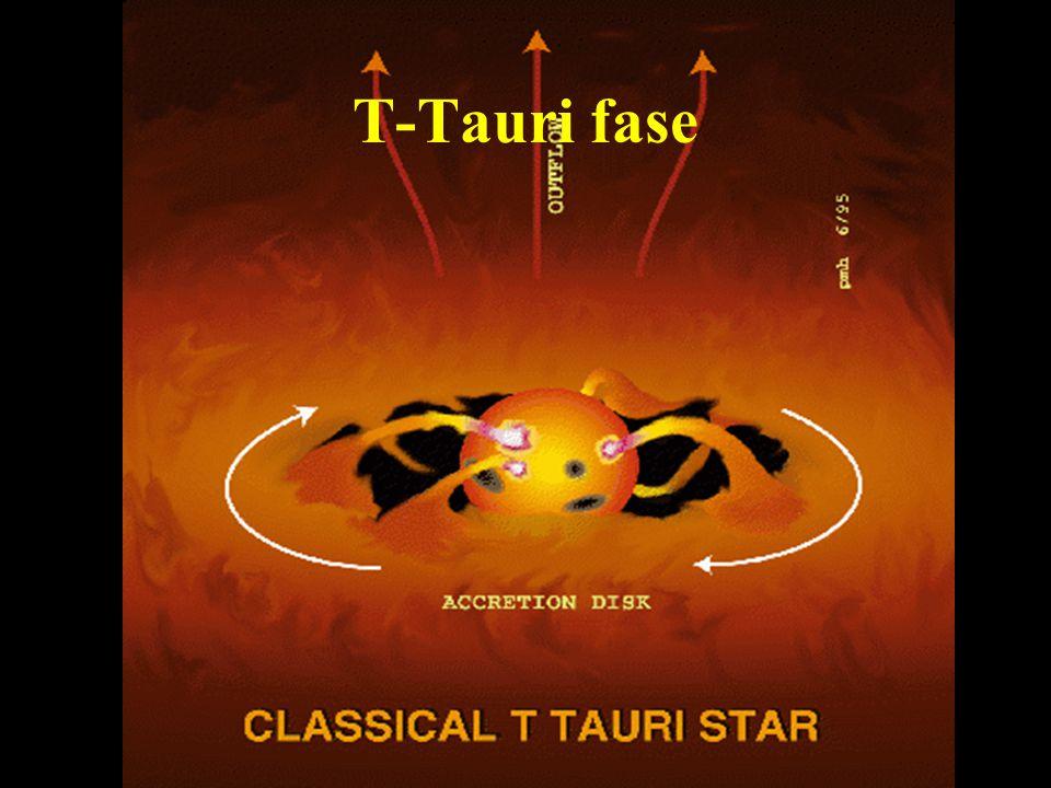 T-Tauri fase