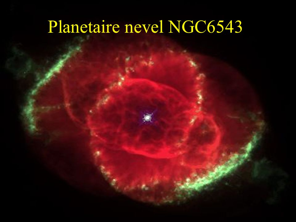 Planetaire nevel NGC6543