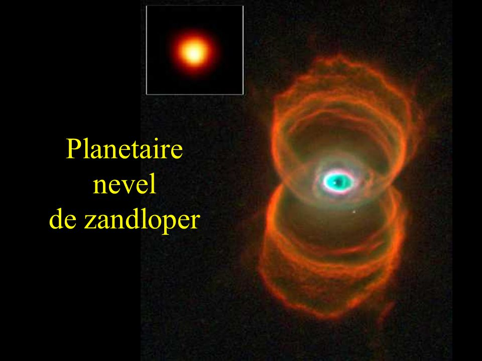 Planetaire nevel de zandloper