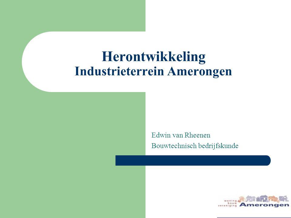 Herontwikkeling Industrieterrein Amerongen