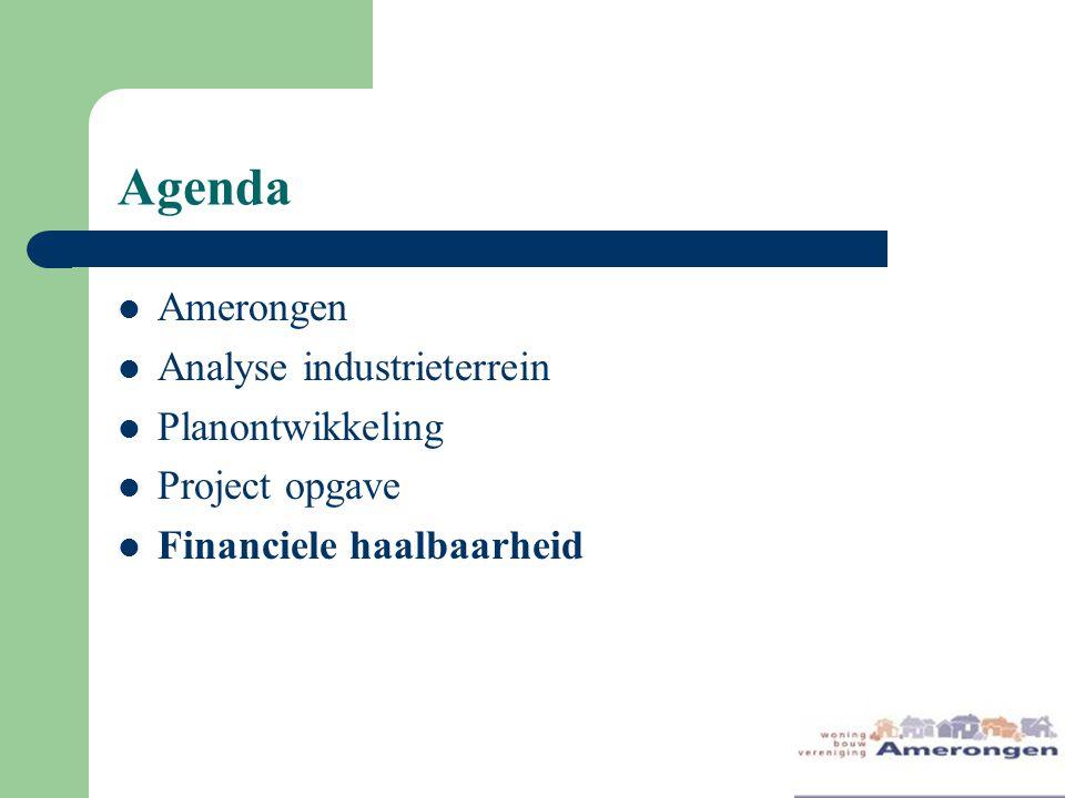 Agenda Amerongen Analyse industrieterrein Planontwikkeling