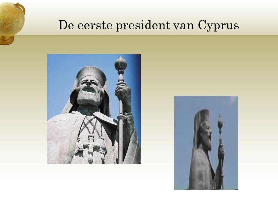De eerste president van Cyprus