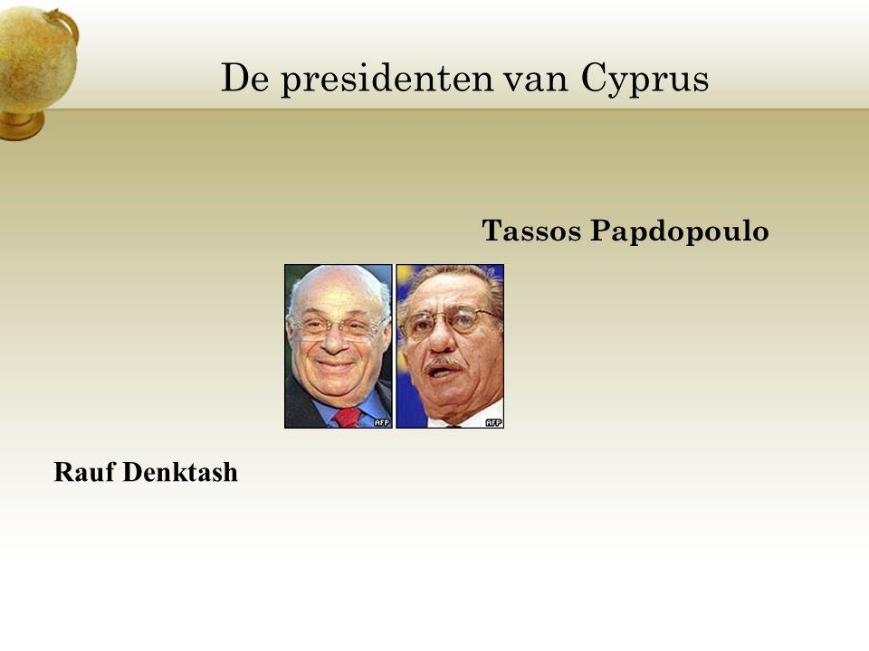 De presidenten van Cyprus