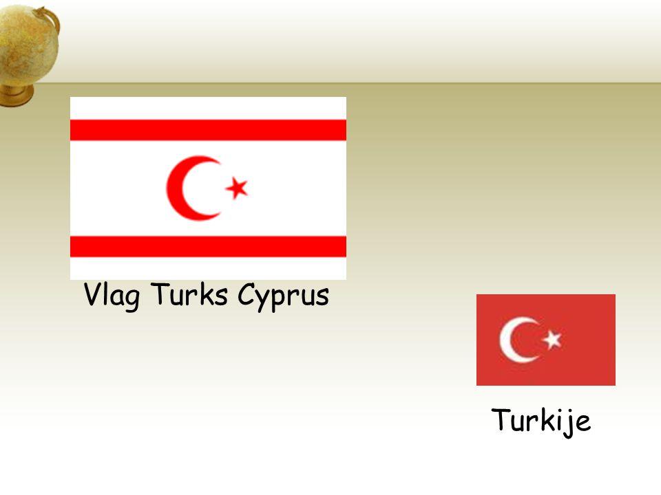 Vlag Turks Cyprus Turkije