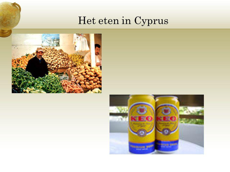 Het eten in Cyprus