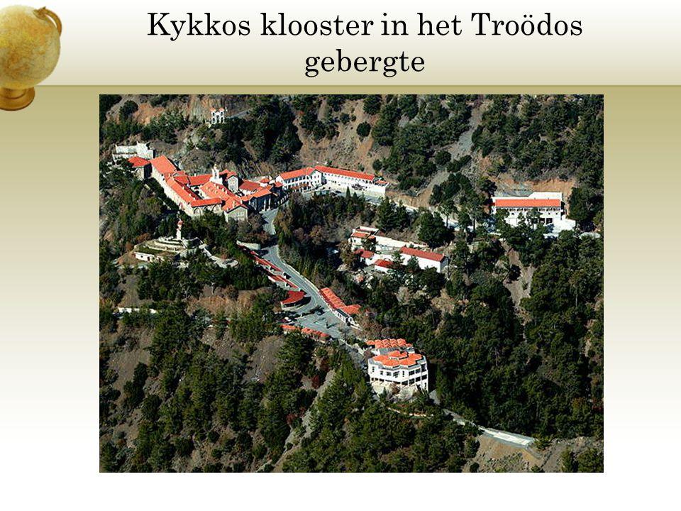 Kykkos klooster in het Troödos gebergte