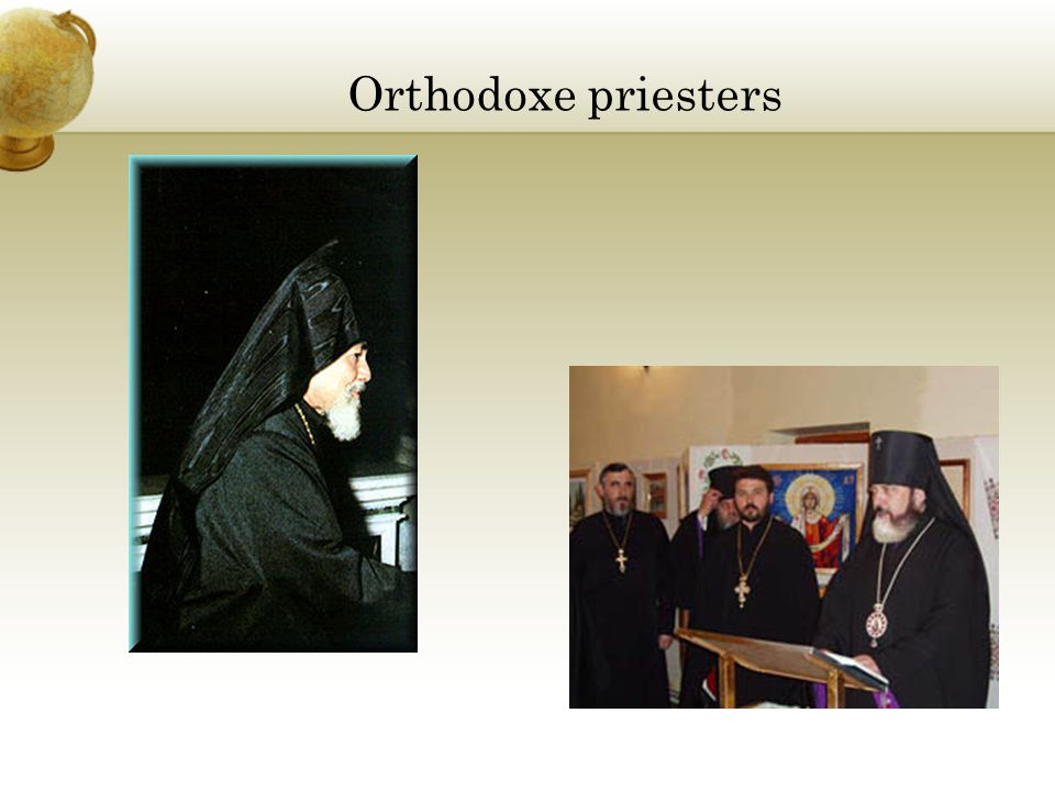Orthodoxe priesters