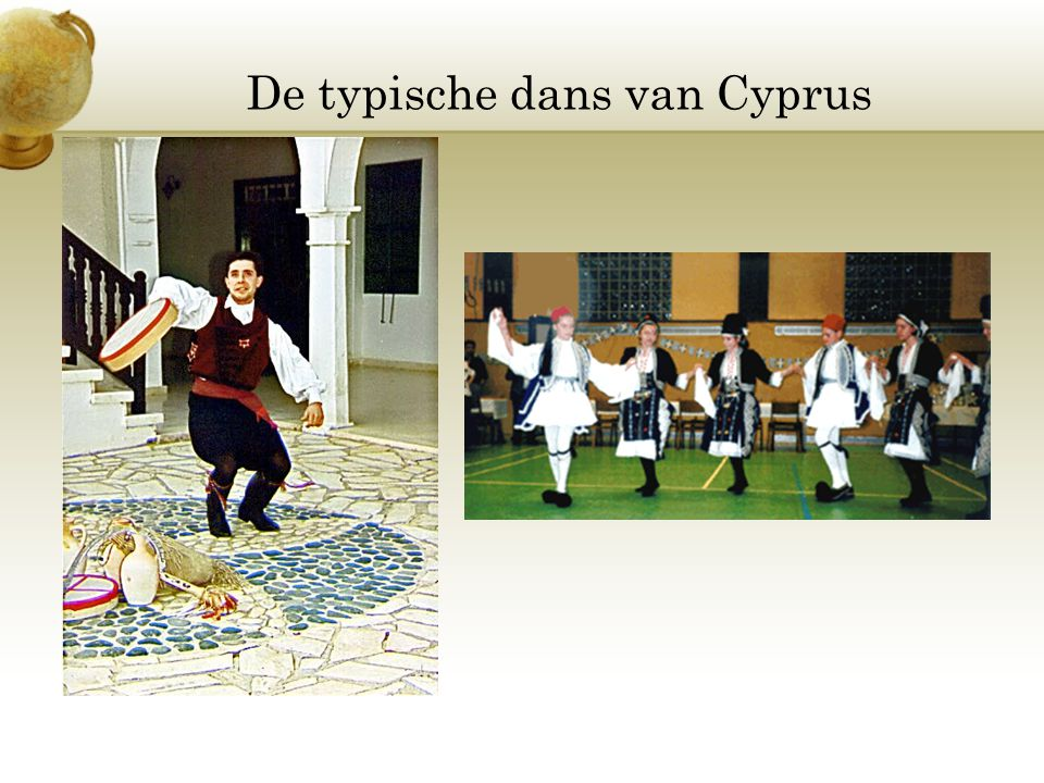 De typische dans van Cyprus