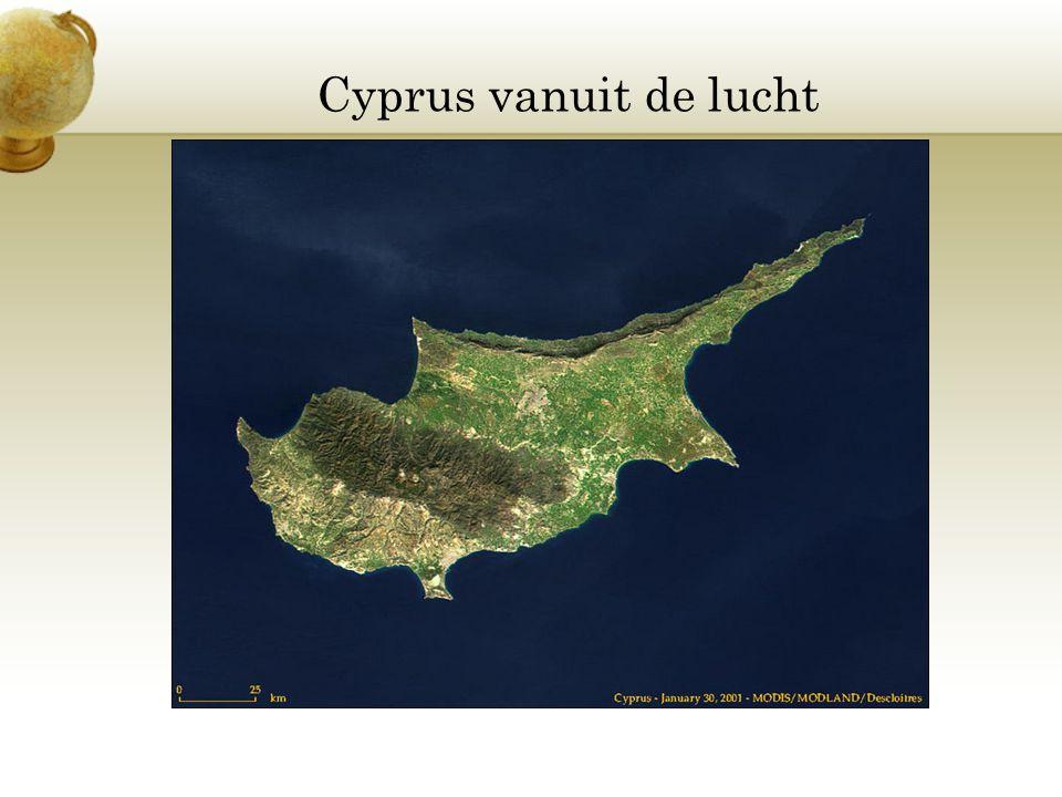 Cyprus vanuit de lucht