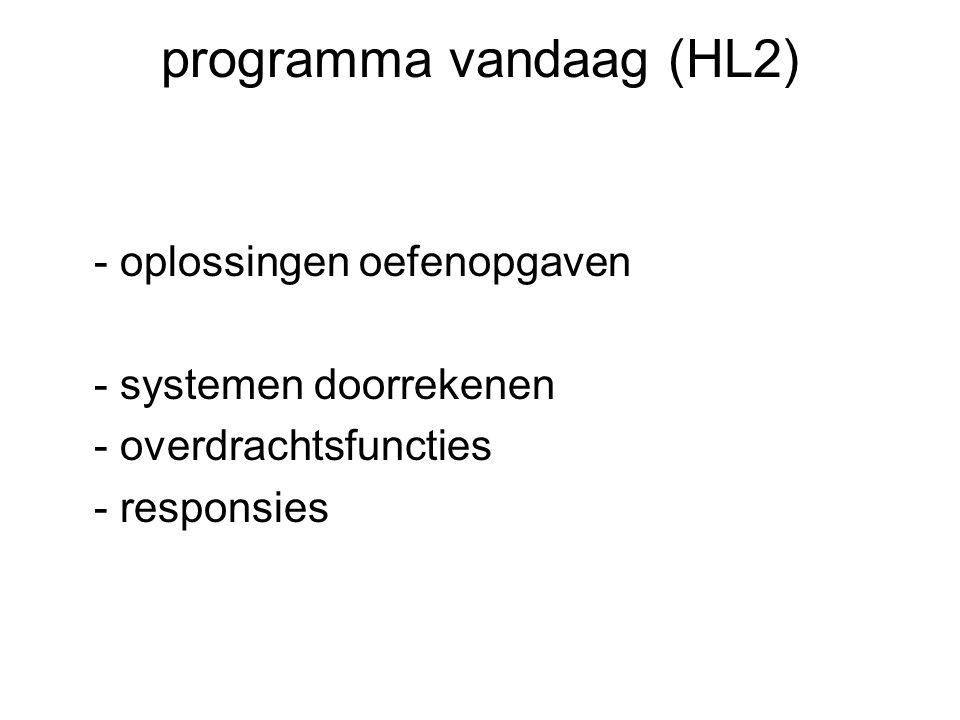 programma vandaag (HL2)