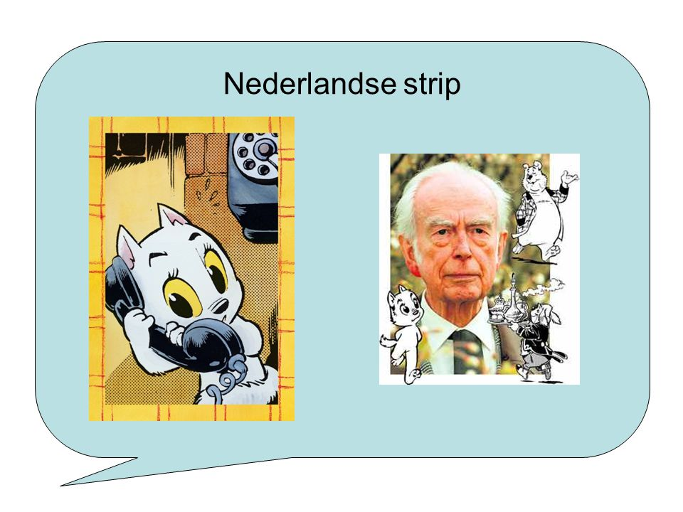 Nederlandse strip Bekende Nederlandse strip: