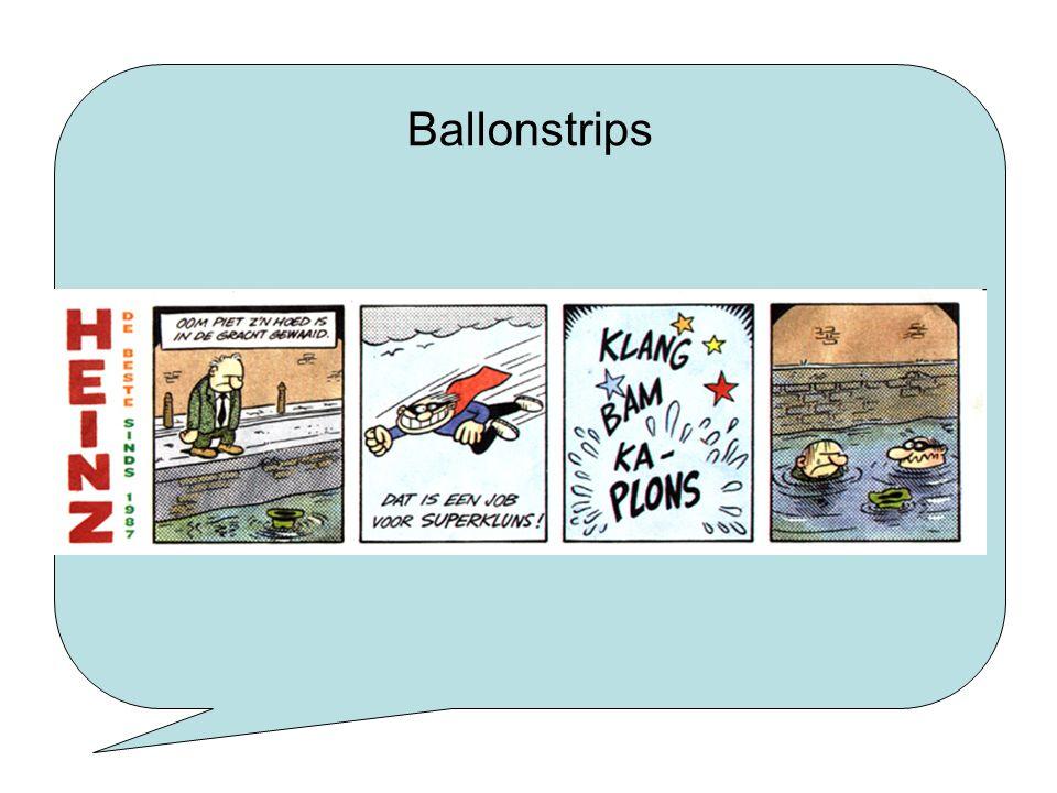 Ballonstrips Ballonstrip: tekst in het plaatje staat