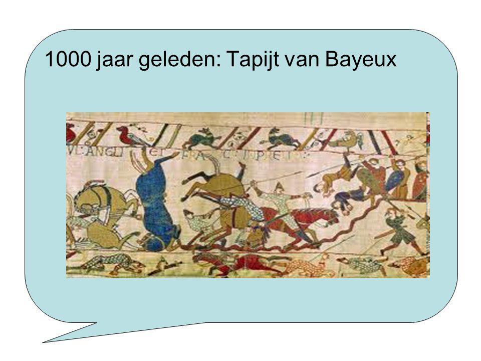 1000 jaar geleden: Tapijt van Bayeux