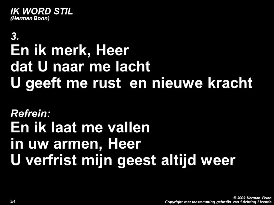 IK WORD STIL (Herman Boon)