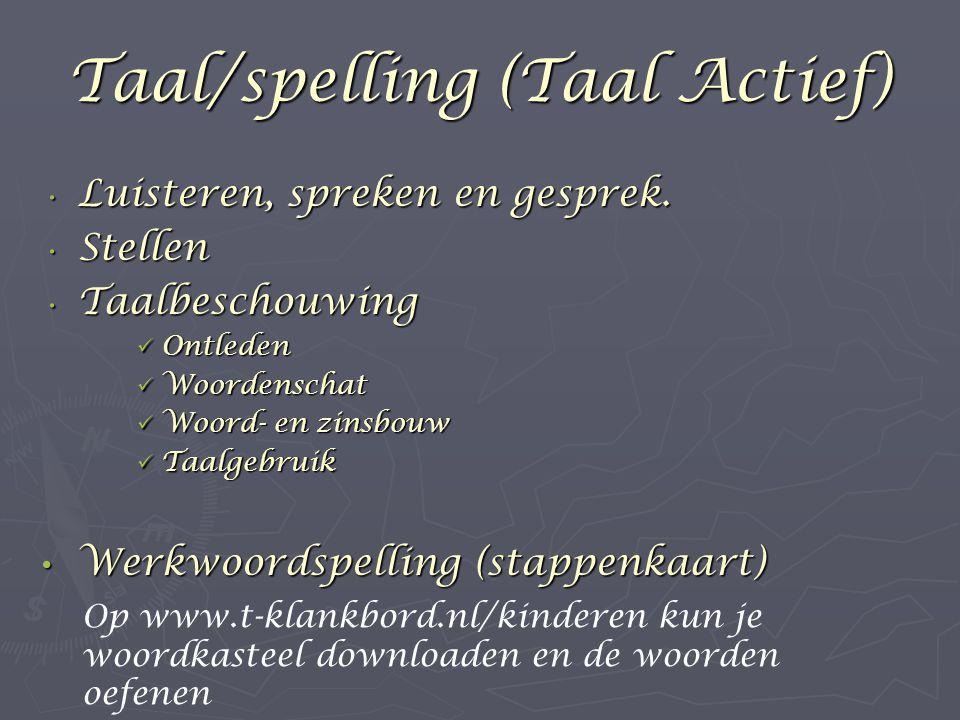 Taal/spelling (Taal Actief)