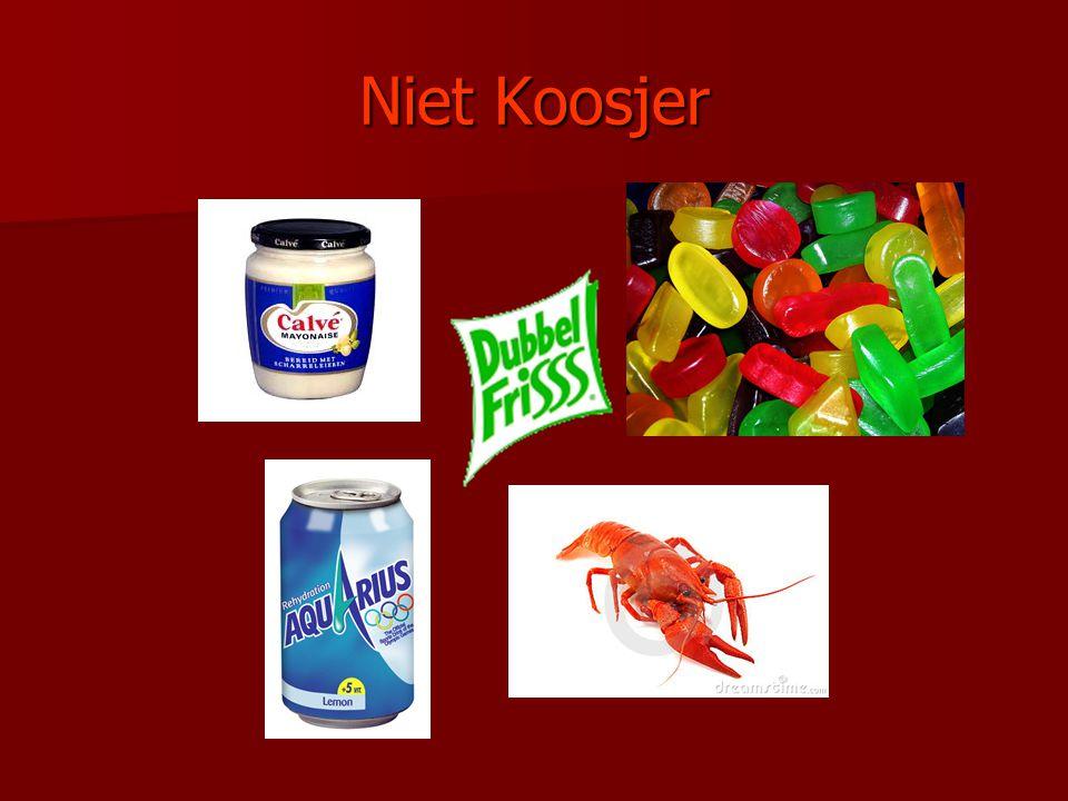 Niet Koosjer