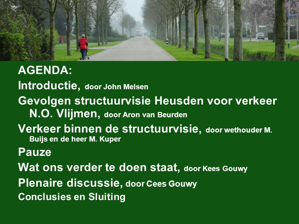 Introductie, door John Melsen