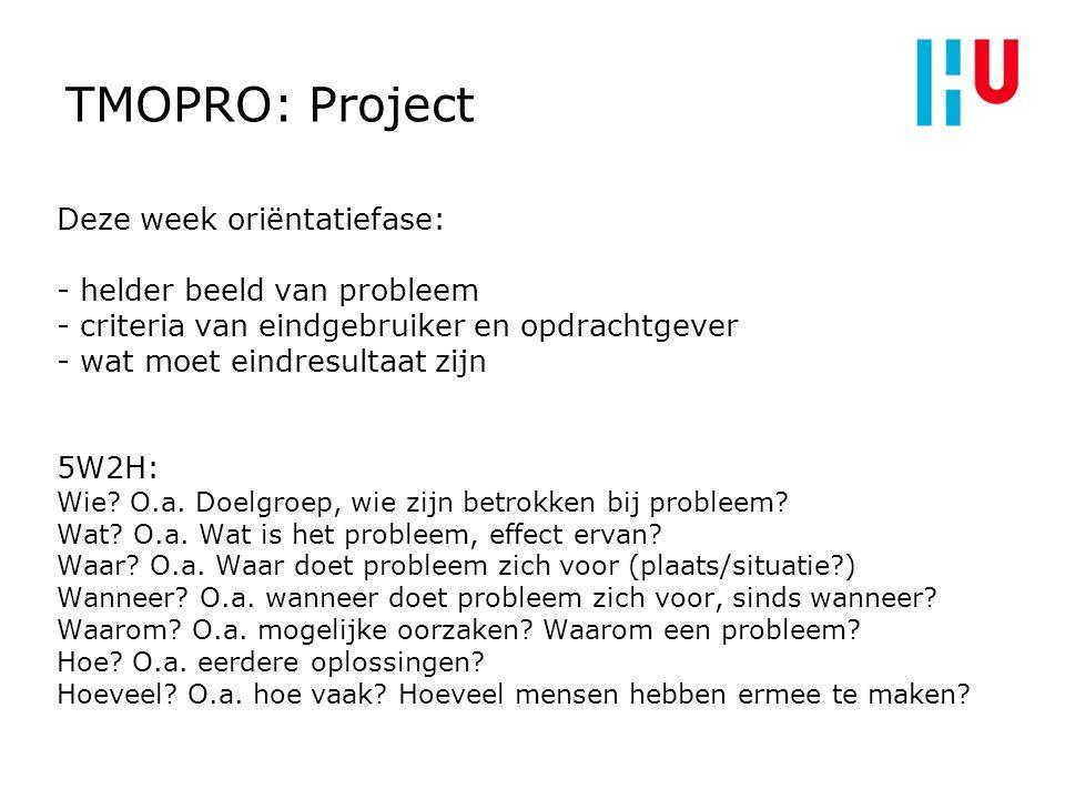 1010 TMOPRO: Project.