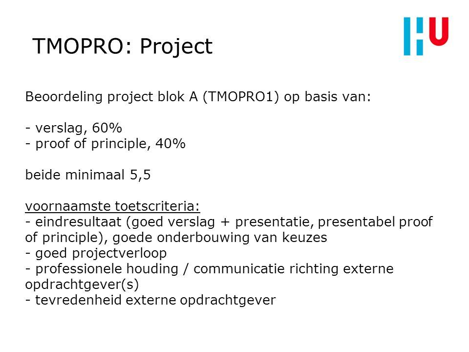 8 TMOPRO: Project.