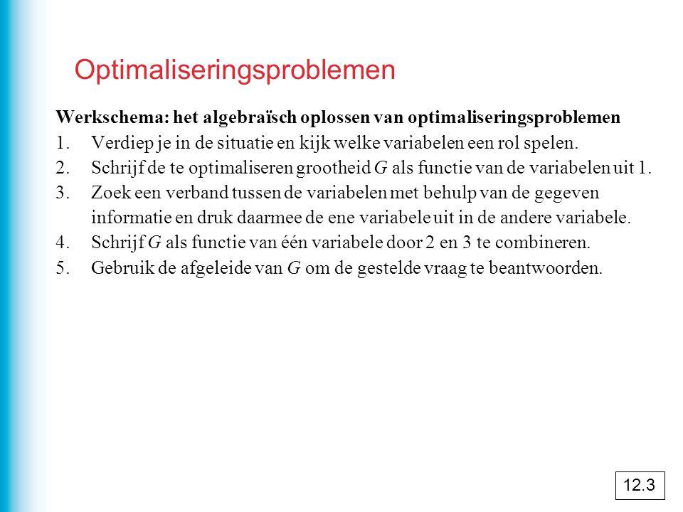 Optimaliseringsproblemen
