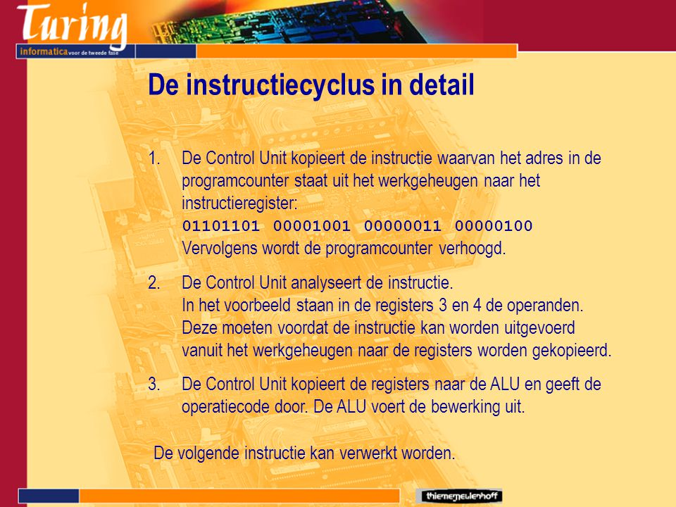 De instructiecyclus in detail