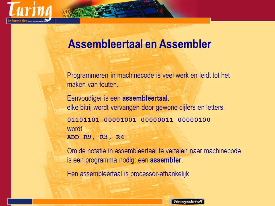 Assembleertaal en Assembler