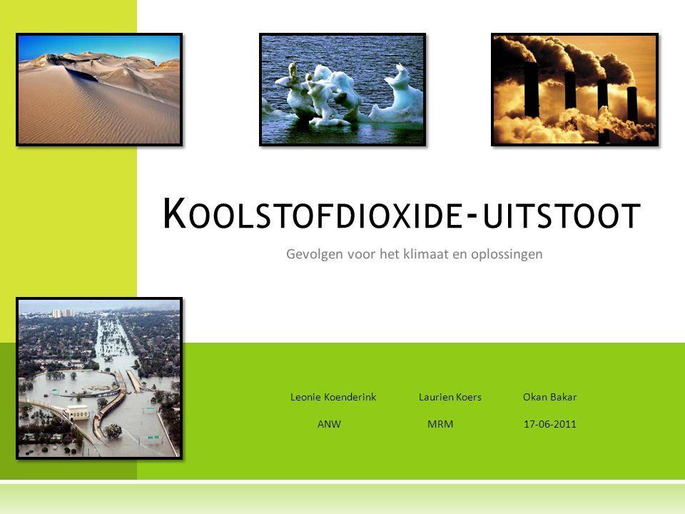 Koolstofdioxide-uitstoot