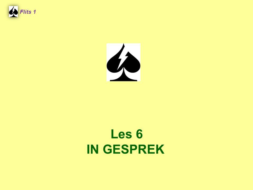 Flits 1 Spel 2. Les 6 IN GESPREK