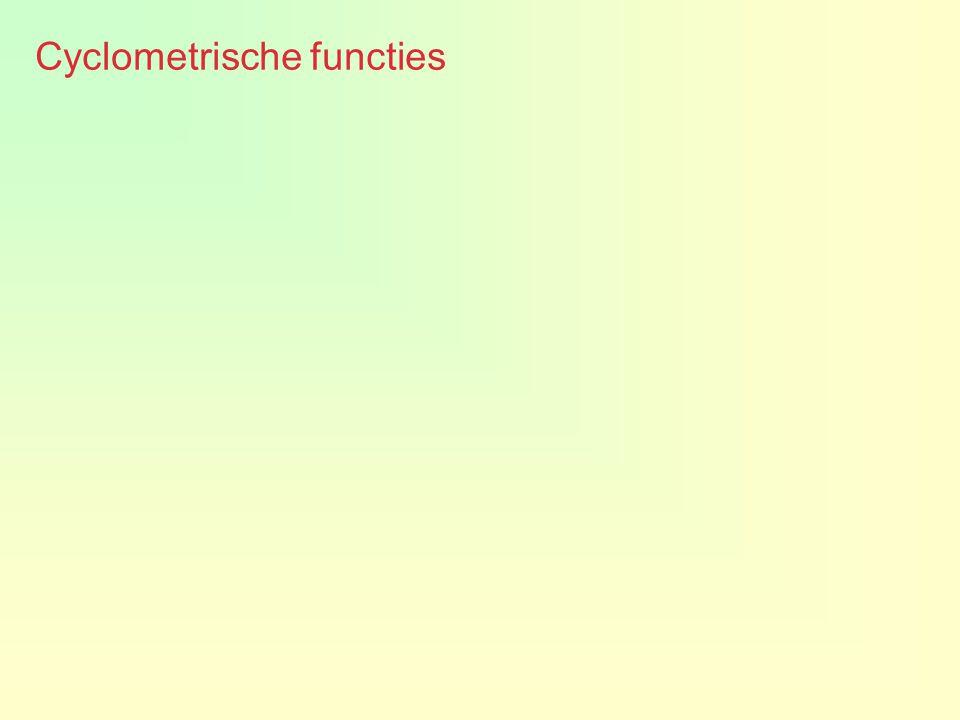 Cyclometrische functies