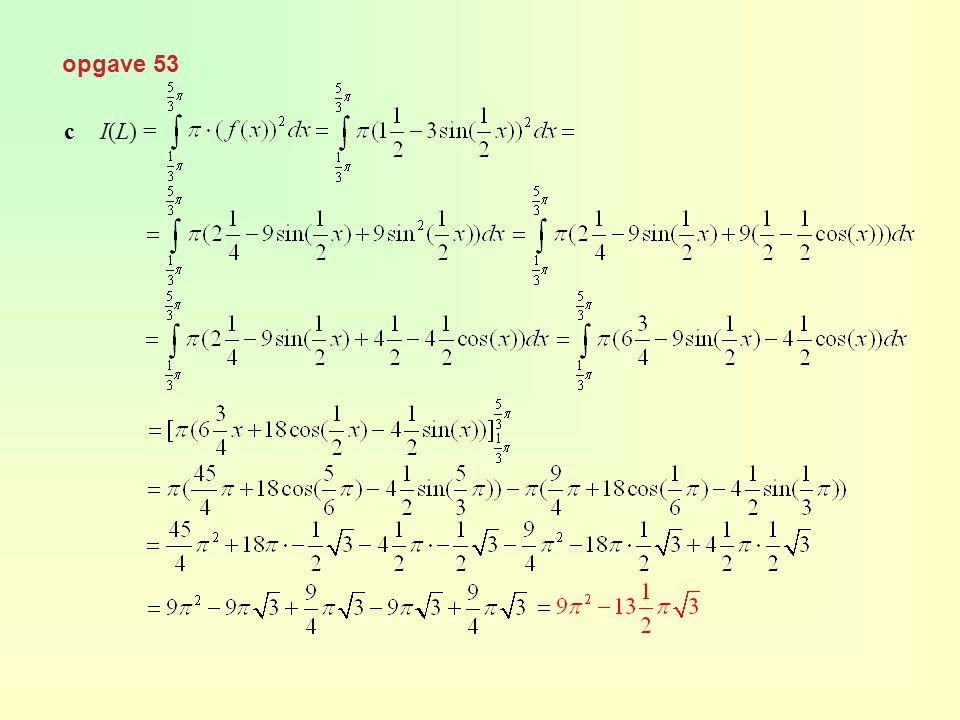 opgave 53 c I(L) =