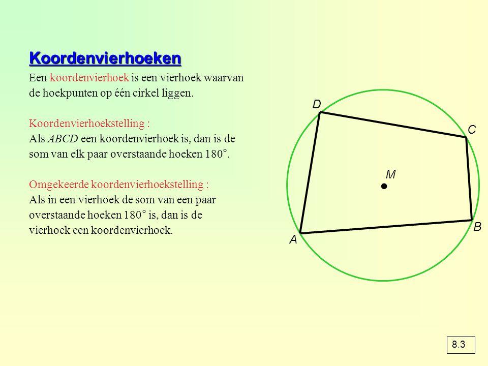 ∙ Koordenvierhoeken D C M B A