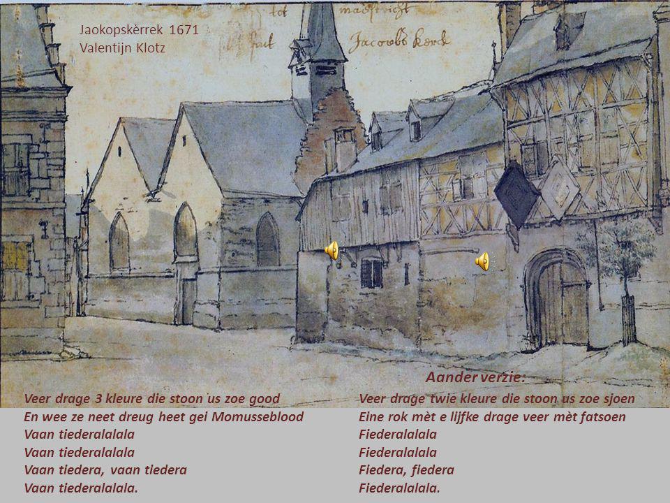 Aander verzie: Jaokopskèrrek 1671 Valentijn Klotz