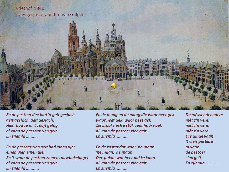 Touwgesjreve aon Ph. van Gulpen