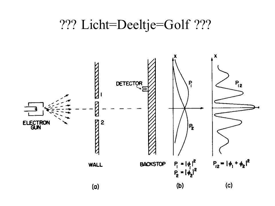Licht=Deeltje=Golf
