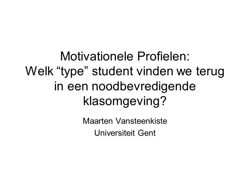 Maarten Vansteenkiste Universiteit Gent