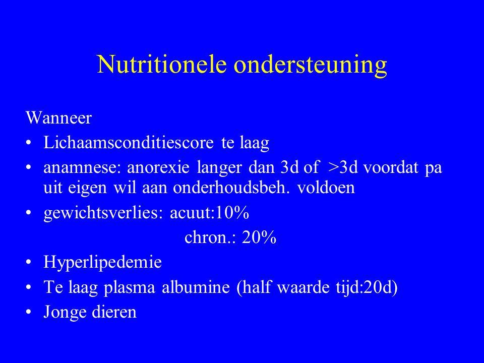 Nutritionele ondersteuning