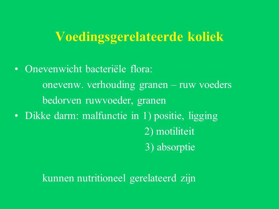 Voedingsgerelateerde koliek