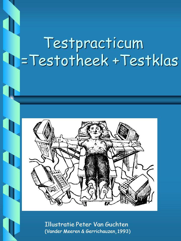 Testpracticum =Testotheek +Testklas