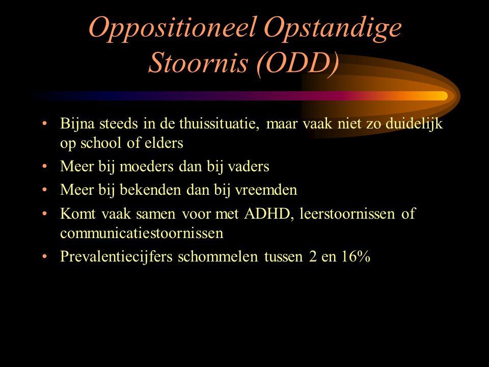 Oppositioneel Opstandige Stoornis (ODD)