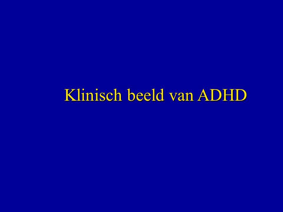 Klinisch beeld van ADHD