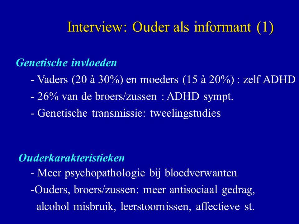 Interview: Ouder als informant (1)
