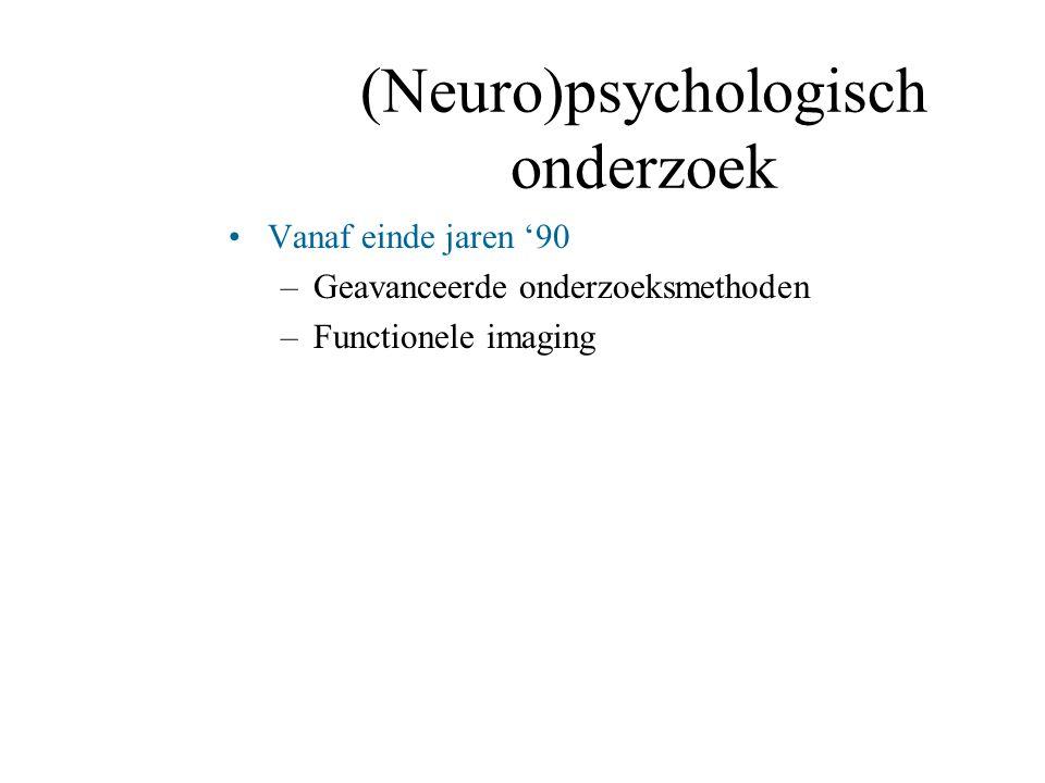 (Neuro)psychologisch onderzoek