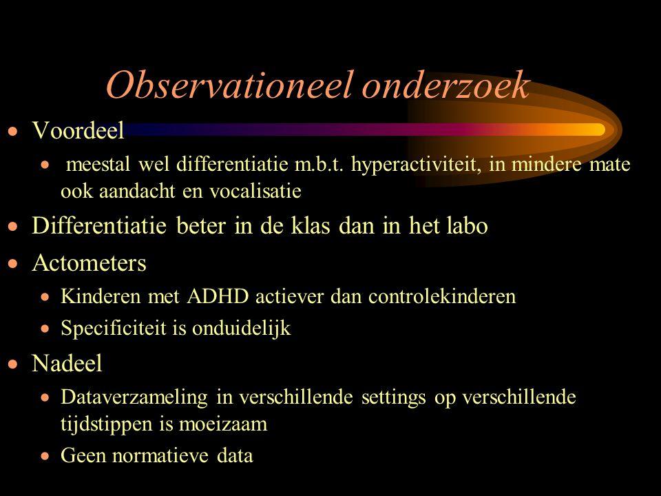 Observationeel onderzoek