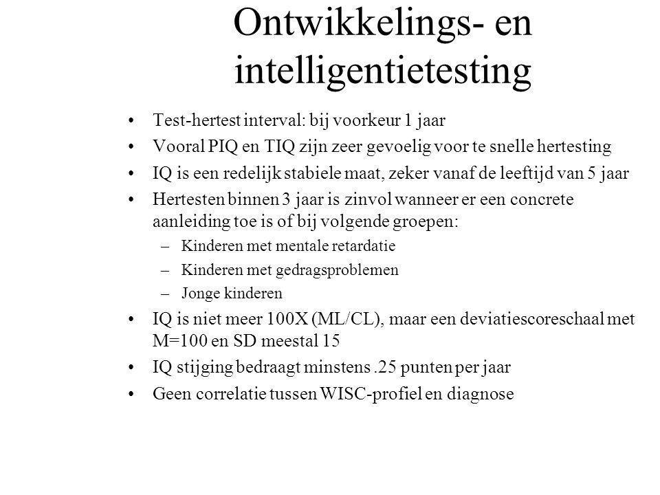 Ontwikkelings- en intelligentietesting