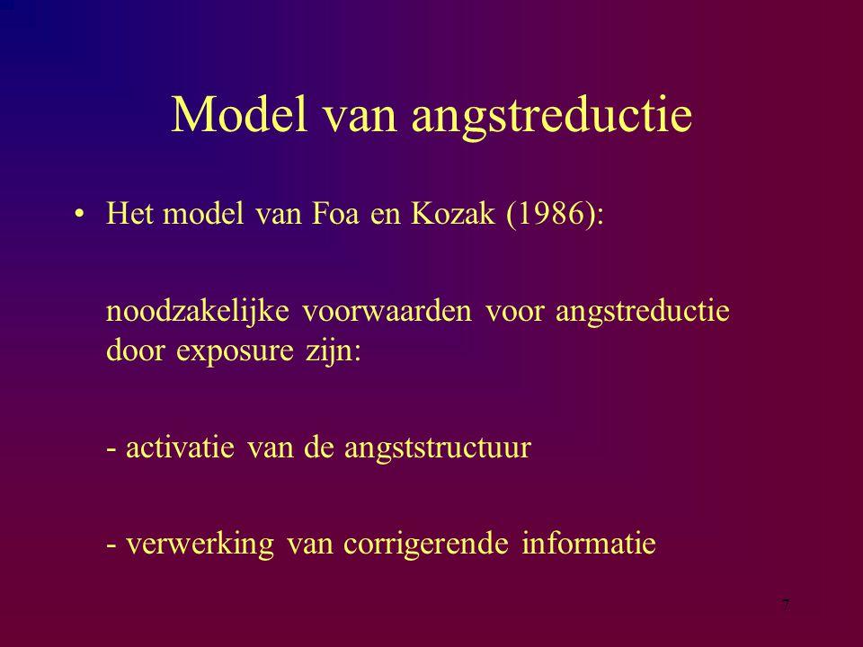 Model van angstreductie