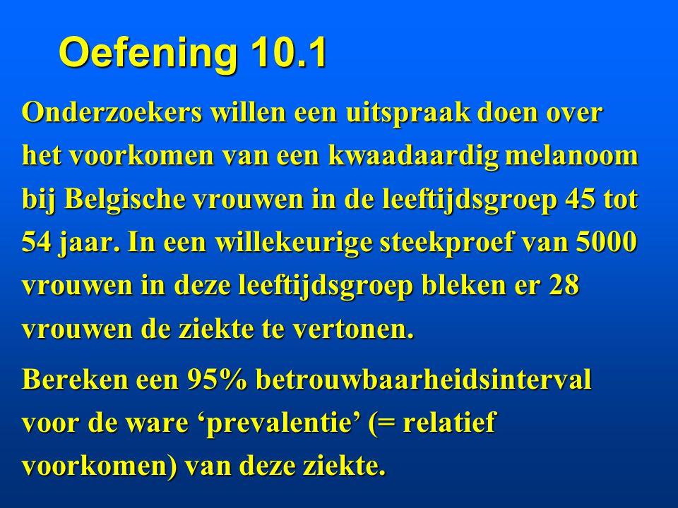 Oefening 10.1