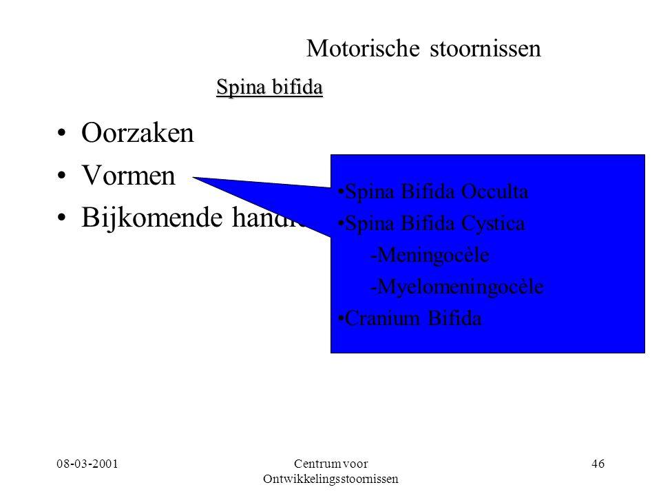 Motorische stoornissen