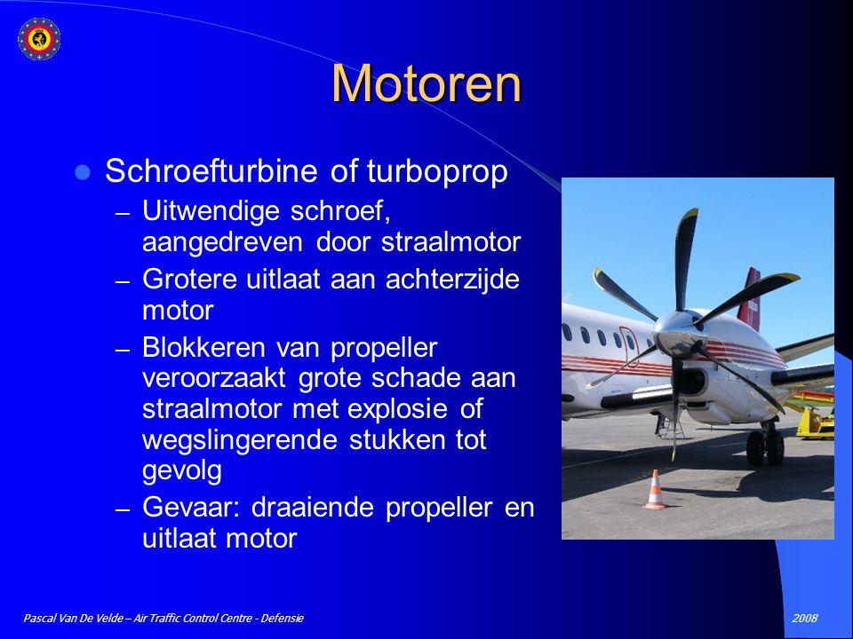 Motoren Schroefturbine of turboprop