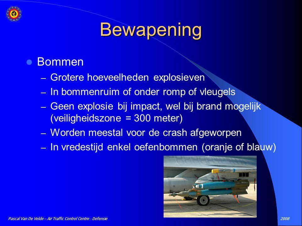 Bewapening Bommen Grotere hoeveelheden explosieven